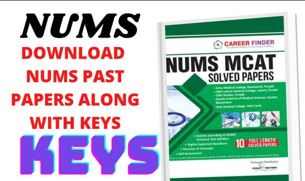 Nums past papers with answer keys