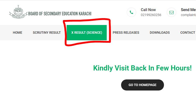 Click to Check BSEK Result